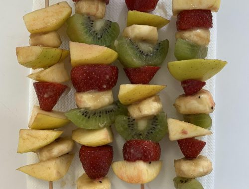 6A-Aprendemos a comer fruta de manera divertida