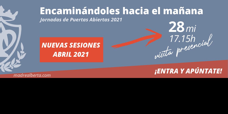 Jornadas de Puertas Abiertas 2021